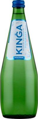Kinga Pienińska naturalna woda mineralna niegazowana, w szklanej butelce