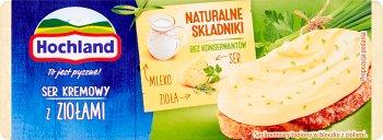 Hochland serek topiony kremowy 60% tłuszczu  z ziołami