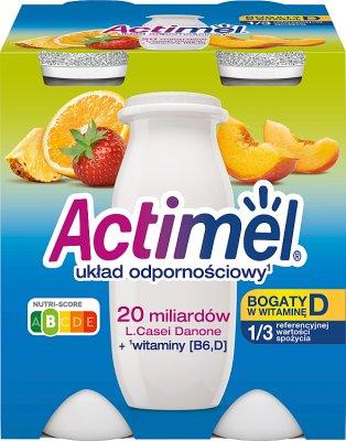 Danone Actimel - jogurt wzmacniający odporność  wieloowocowy