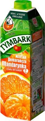 Tymbark nektar pomarańcza z hiszpańską mandarynką