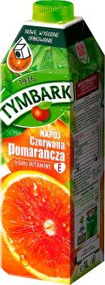 Tymbark napój pomarańcza z czerwoną pomarańczą z Sycylii