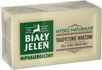 Biały Jeleń mydło w kostce naturalne hipoalergiczne