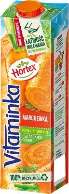 Hortex Vitaminka nektar przecierowy marchew