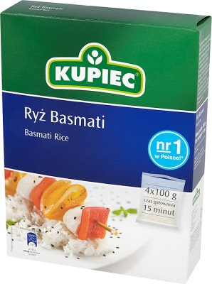 Bolsas de arroz Basmati