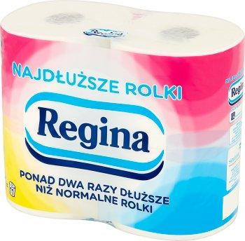 Regina Najdłuższa Rolka 4=12 papier toaletowy 4 rolki