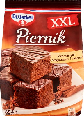 Dr.Oetker Piernik XXL ciasto w proszku 650g