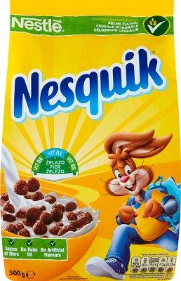 Nestle Nesquick czekoladowe płatki śniadaniowe