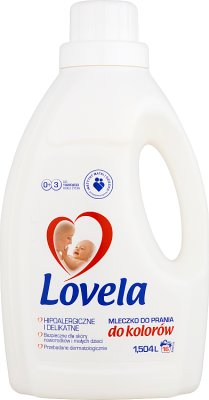 Lovela hipoalergiczne mleczko do prania  do kolor