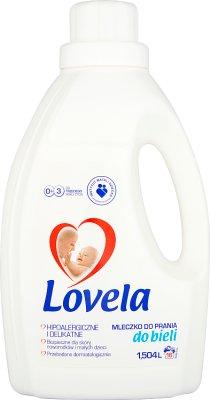 Lovela hipoalergiczne mleczko do prania  do białego