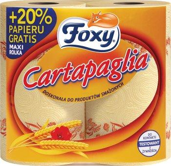 Foxy Cartapaglia super chłonne ręczniki doskonałe do produktów smażonych