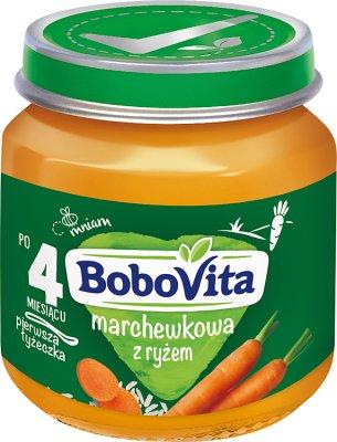 BoboVita zupka marchewkowa z ryżem
