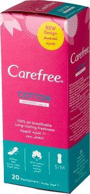 Carefree Triplefresh przewiewne wkładki higieniczne 20 sztuk