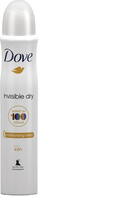 Dove dezodorant damski w sprayu Invisible Dry
