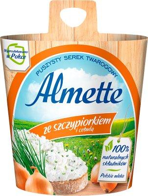 Hochland Almette serek kremowy ze szczypiorkiem i cebulą