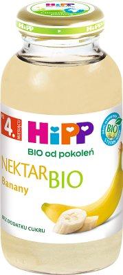 HiPP nektar bananowy BIO