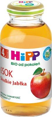 Sok słodkie jabłka BIO