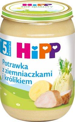 HiPP potrawka z ziemniakami i królikiem