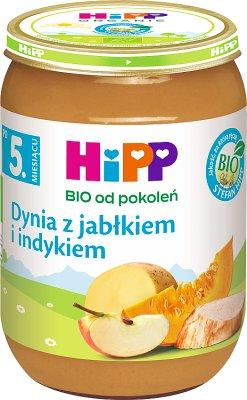 HiPP dynia z indykiem BIO