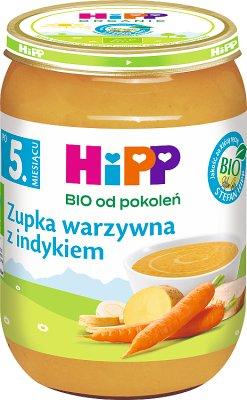 HiPP zupka warzywna z indykiem BIO
