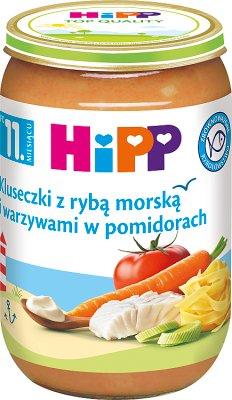 HiPP kluseczki z rybą i warzywami w pomidorach