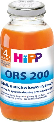 ors 200 corrot-rice gruel for diarrhea