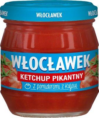Włocławek ketchup słoik pikantny