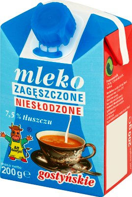 sweetened condensed milk 7.5%