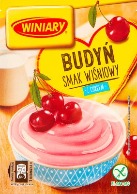 Winiary budyń z cukrem wiśniowy