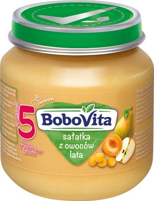 BoboVita deser sałatka z owoców lata