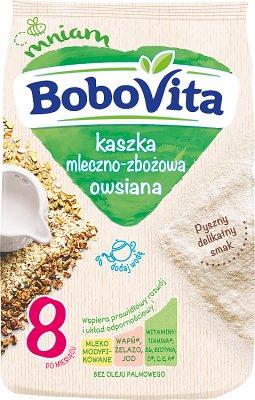 BoboVita kaszka mleczna-wielozbożowa owsiane śniadanko