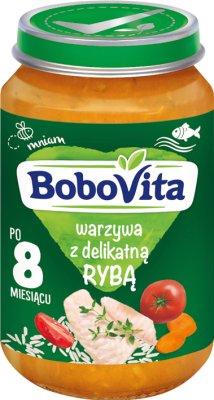 BoboVita obiadek warzywa z delikatną rybą