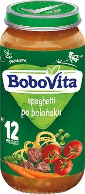BoboVita obiadek spaghetti po bolońsku
