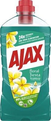 Ajax uniwersalny płyn do czyszczenia wszystkich powierzchni Floral Fiesta kwiaty laguny