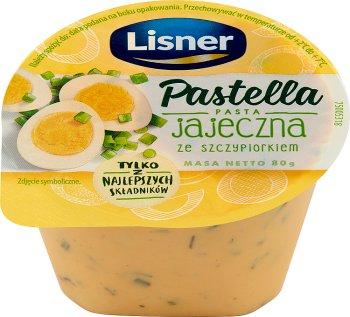 Lisner Pastella pasta kanapkowa jajeczna ze szczypiorkiem