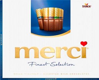 boîte bleue de chocolats