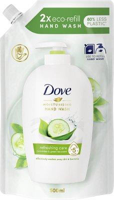 Dove mydło w płynie zapas 500 ml go fresh - fresh touch