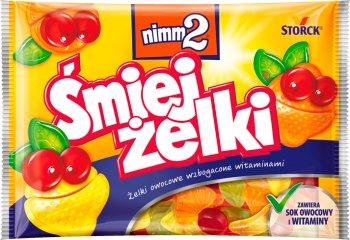 Nimm2 Śmiej żelki wzbogacone witaminami  owocowe