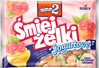 Nimm2 Śmiej żelki wzbogacone witaminami  jogurtowe