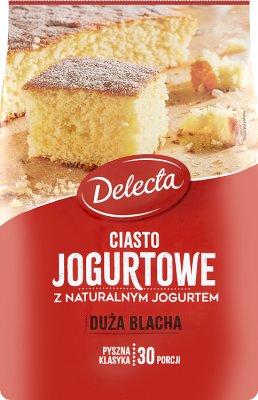 Delecta Duża Blacha ciasto jogurtowe