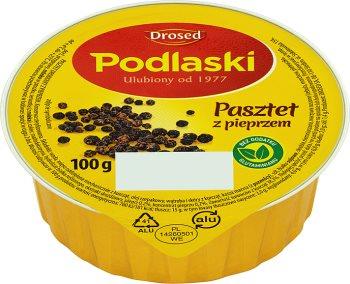 Drosed Podlaski pasztet drobiowy z pieprzem