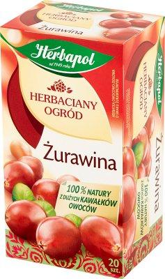 Herbapol Herbaciany Ogród herbatka żurawina