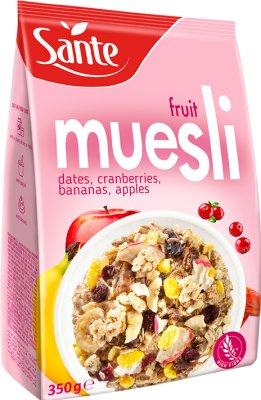 Sante Musli płatki  Fruit - owocowe