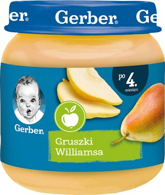 Gerber owoce  gruszki Williamsa