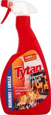 Tytan aktywny płyn do czyszczenia szyb kominkowych i grilli spray