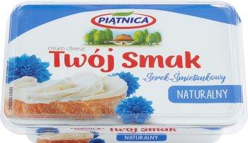 Piątnica Twój Smak serek śmietankowy  naturalny