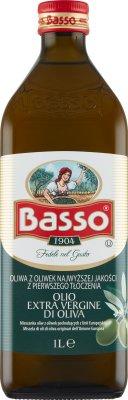 Basso Extra Vergine włoska ekstra oliwa z oliwek pierwszego tłoczenia
