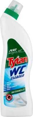 Tytan bakteriobójczy płyn do WC zielony