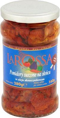 La Rossa Pomidory suszone na słońcu w oleju słonecznikowym