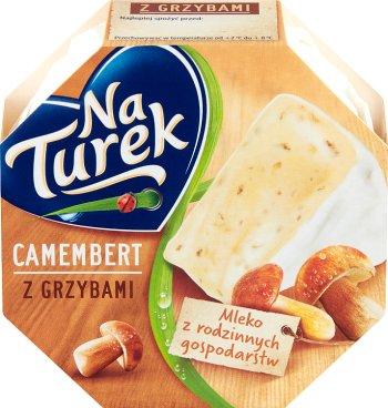 Turek Camembert ser pleśniowy z grzybami leśnymi