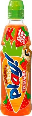 Jouer fruits boisson carotte , fraise, citron , pomme